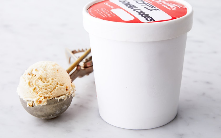 Smitten Ice Cream   Toffee & Oatmeal Cookies Ice Cream     $11.99