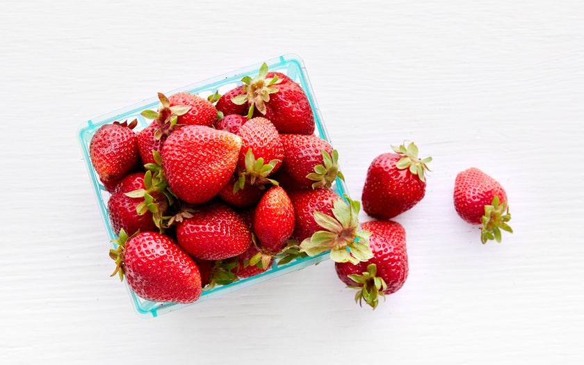 Swanton Berry Farm   Organic Chandler Strawberries     $4.99
