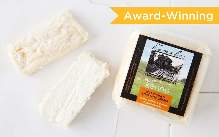 Tomales Farmstead Creamery   Kenne Goat Cheese     $12.99