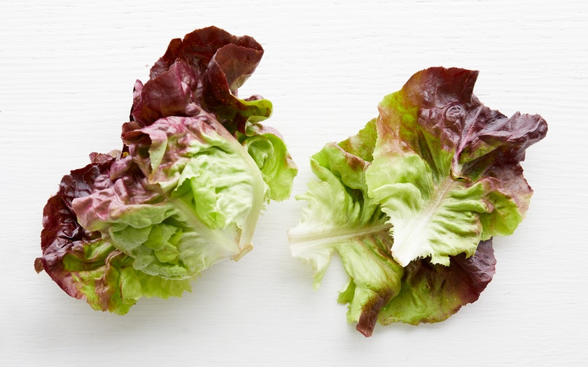 From Our Farmers   Organic Red Butter Lettuce     $2.49