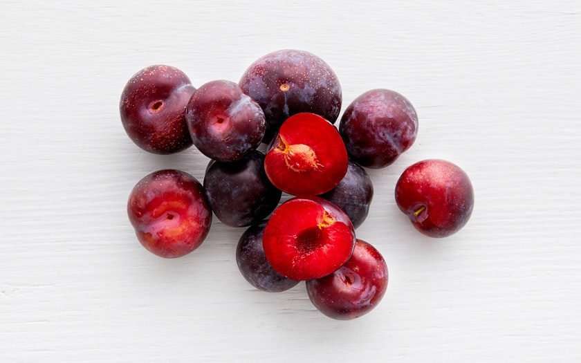 From Our Farmers   Black Cherry Plums     $3.99