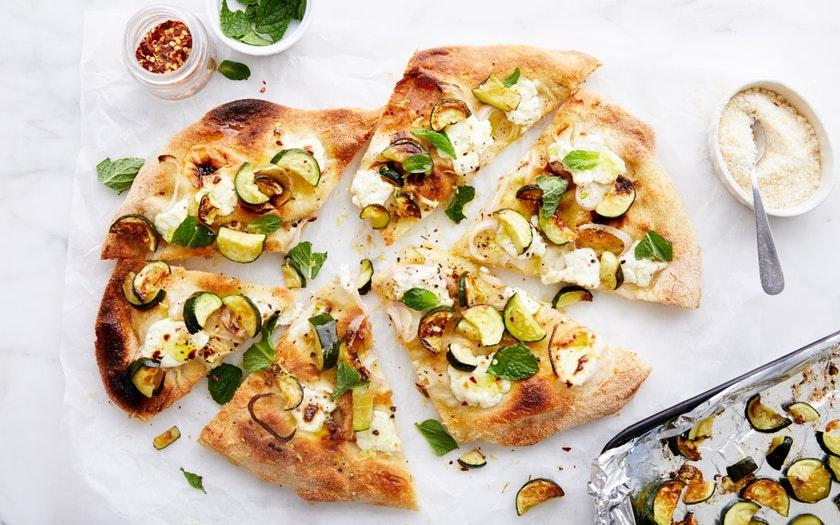 Good Eggs Meal Kits   Zucchini Pizza with Lemon & Ricotta     $19.99