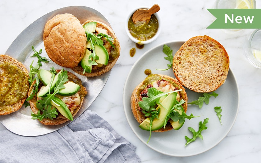 Good Eggs Meal Kits   Southwestern Turkey Burgers with Tomatillo Salsa & Jack Cheese     29.99