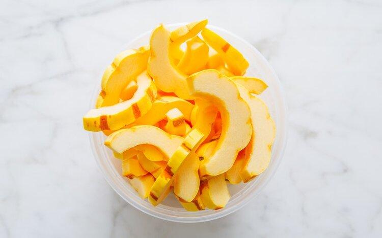 Good Eggs Kitchen   Cut Delicata Squash   $5.99