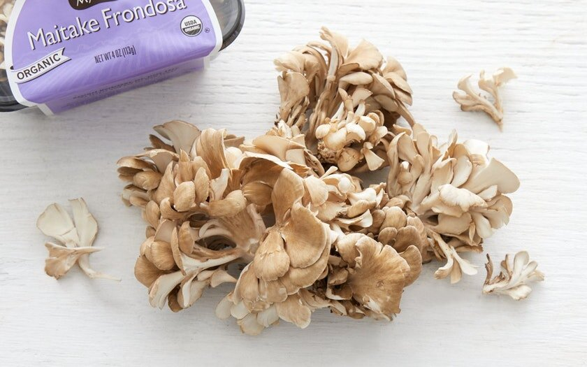Gourmet Mushrooms Inc.   Organic Maitake Frondosa (Hen of the Woods) Mushrooms     $4.99