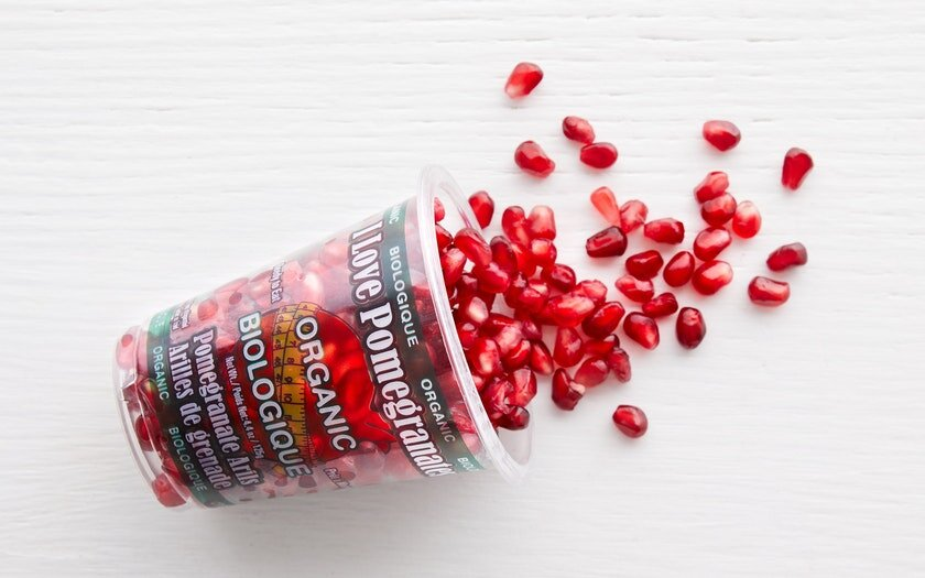 From Our Farmers   Organic Pomegranate Arils   $5.99