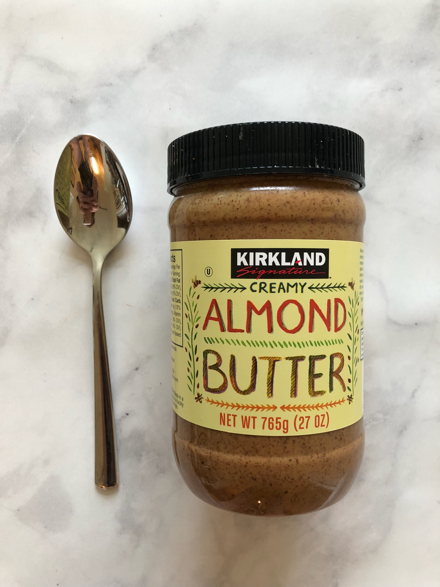 I'll usually start with 2 TBS of Almond Butter