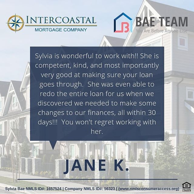 Thank you Jane for the review! 😊 love hearing from our clients!! #relationshipmatters #google #review #googlereview #dc #va #md #dmv #dmvmortgage #dmvrealestate #dmvlending #dcmortgage #dclending #dcrealestate #mdrealestate #mdmortgage #mdlending #varealestate #vamortgage #valending #loanofficer #mortgage #investment #thankful