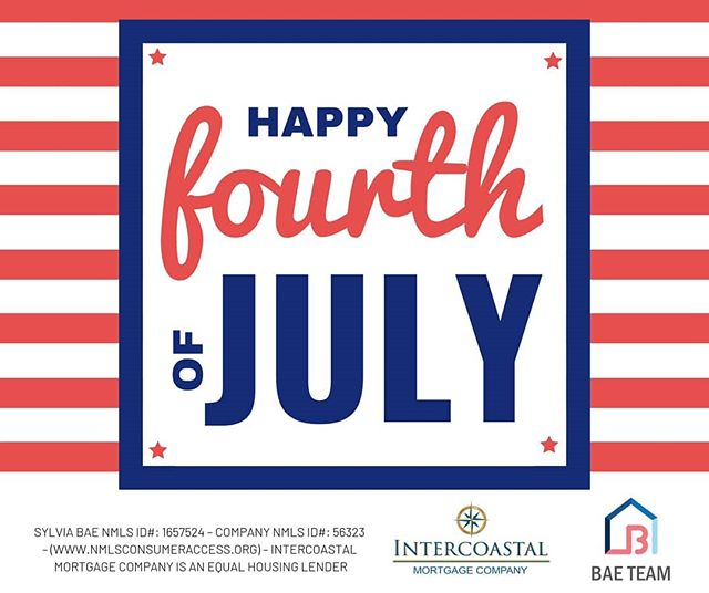 Happy July 4th weekend! Hope everyone has a safe & fun weekend!! #july4th #4thofjuly #happybirthdayamerica #dc #va #md #dmv #dmvmortgage #dmvrealestate #dmvlending #dcmortgage #dclending #dcrealestate #mdrealestate #mdmortgage #mdlending #varealestate #vamortgage #valending #loanofficer #investment #mortgage #realestate