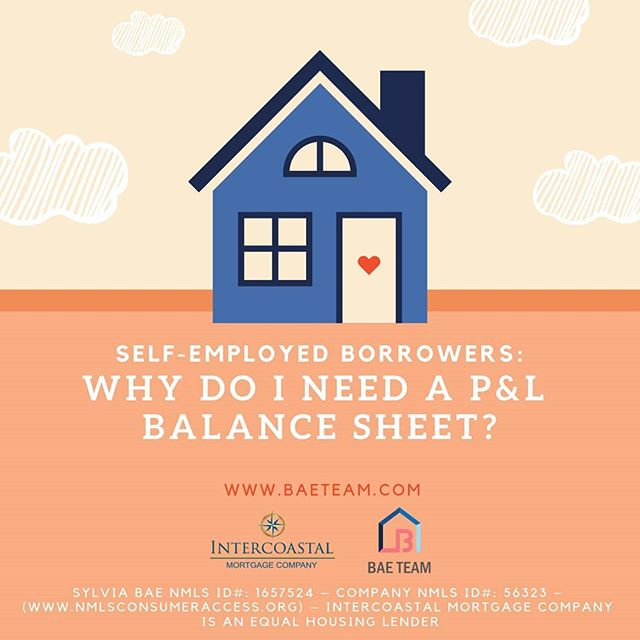 We require self employed borrowers to provide profit & loss balance worksheet on your business that you owe 25% or more if you have filed an extension on your taxes. We look at your income and make sure there aren't any major decline and to provide evidence that the buisness will provide a stable income.  For sny mortgage related questions, please contact me at 571-251-9854.  #dc #va #md #dmv #dmvmortgage #dmvrealestate #dmvlending #dcmortgage #dclending #dcrealestate #mdrealestate #mdmortgage #mdlending #varealestate #vamortgage #valending #loanofficer #investment #mortgage #realestate