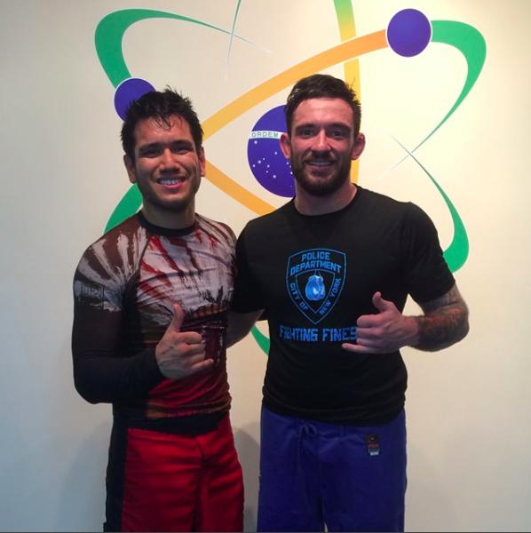 UFC fighter Phillipe Nover