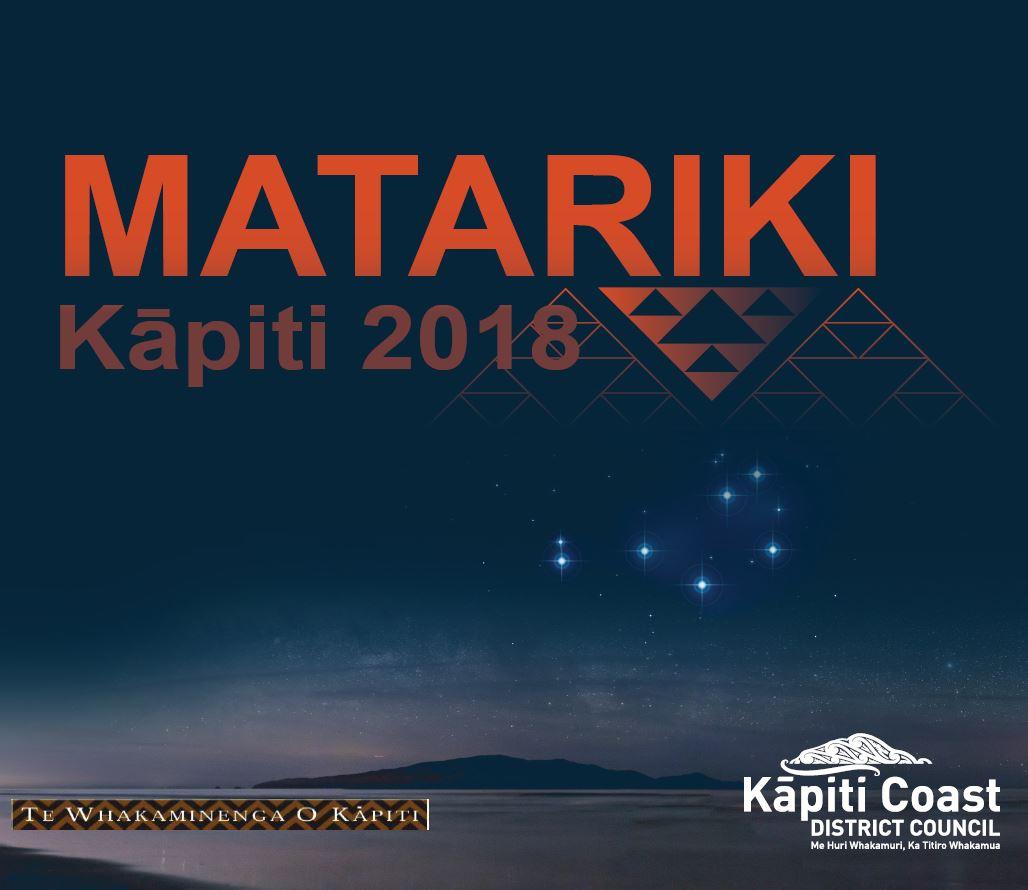 Kāpiti Matariki 2018 logo