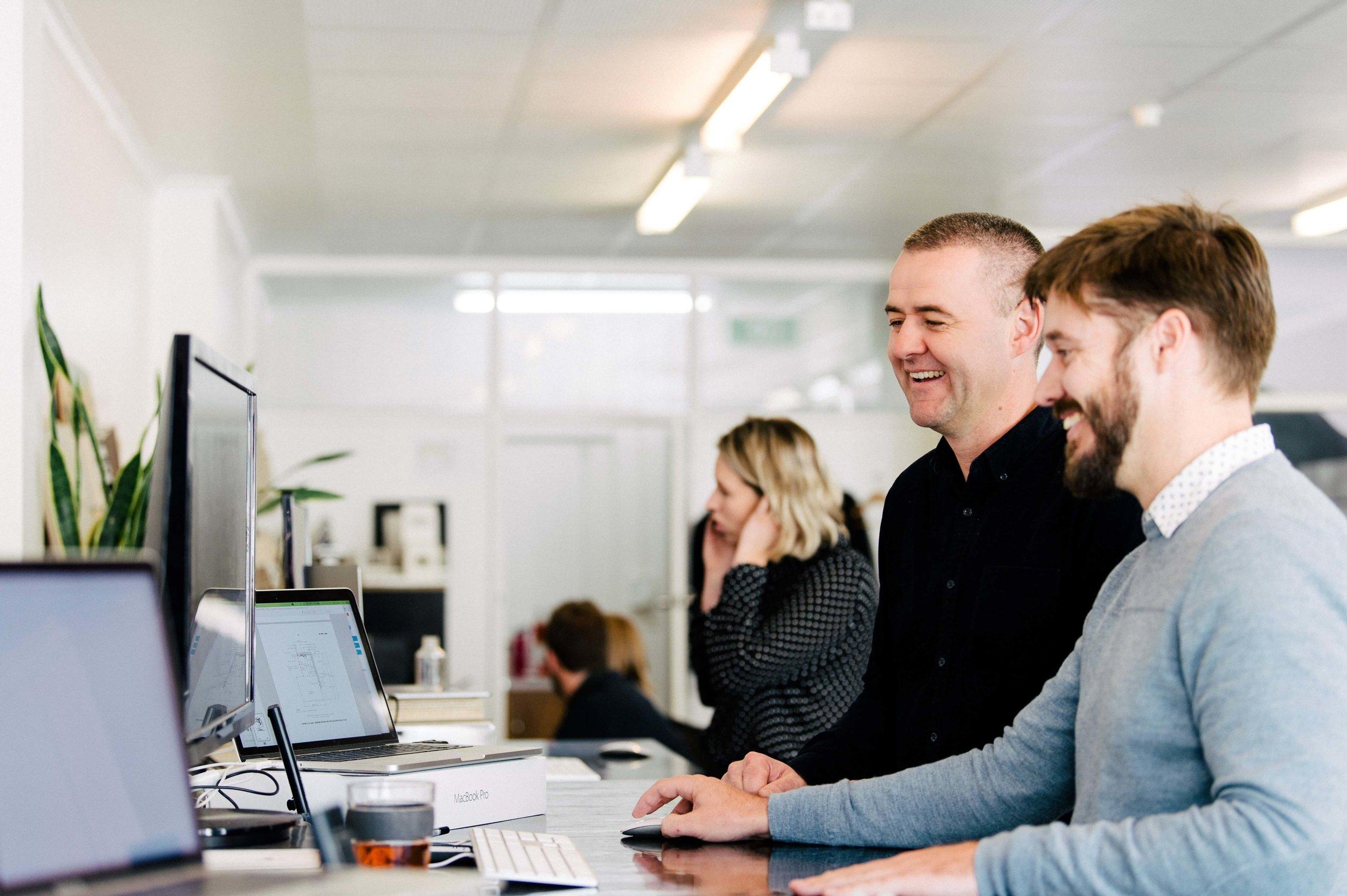 Thea Cumulus Studio team bringing client concepts to life. Image: Anjie Blair for Cumulus Studio 2019.