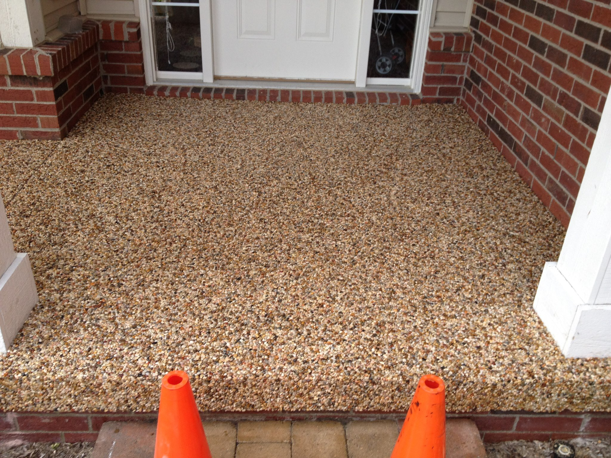 Stamped Concrete Exposed Aggregate Amp Concrete Sealing