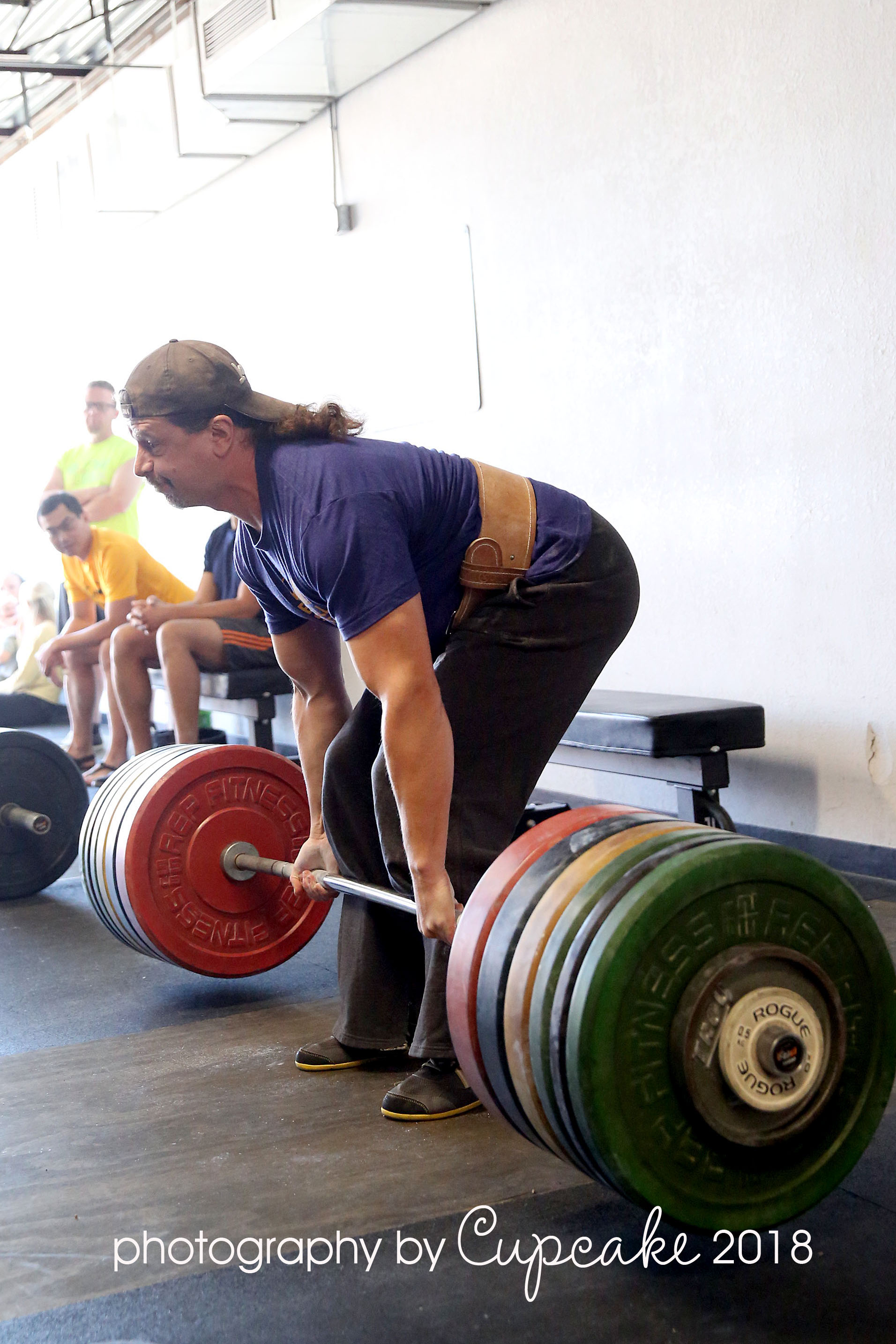 My failed PR attempt at 467lbs. Photo Credit: Barbel Strategy member,  Karen Stevenson