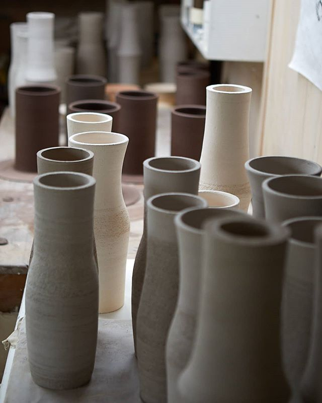 'It is good to have an end to journey towards; but it is the journey that matters, in the end.'(Ursula Le Guin)  Just making.  @simonjamesstore  #process #nzdesign #objectmaker