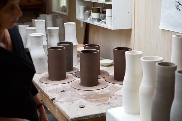 In the midst of it.  Just making  Photo @simon.c.wilson  #nzdesign #objectmaker #clay