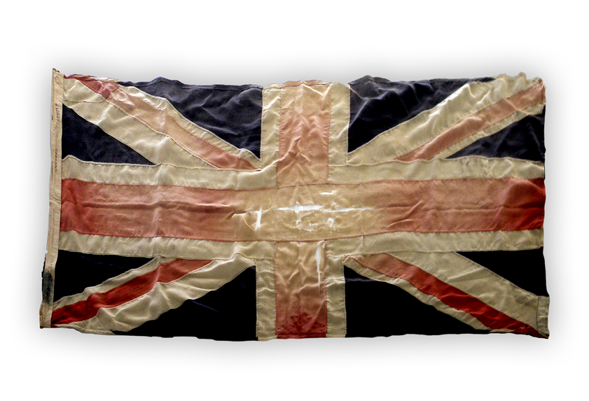 Image of a British flag.