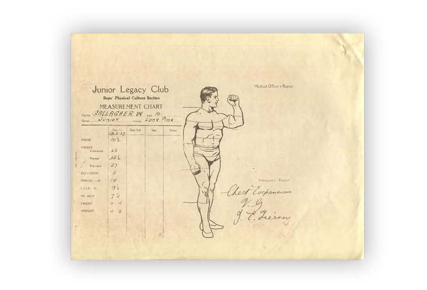 Image of medical chart.