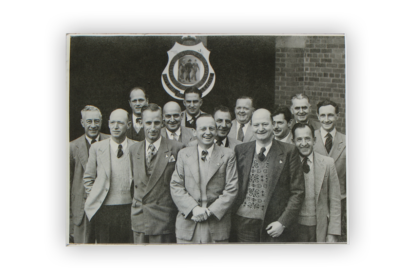 Image of members of the Wangaratta RSL Sub-Branch in 1954.