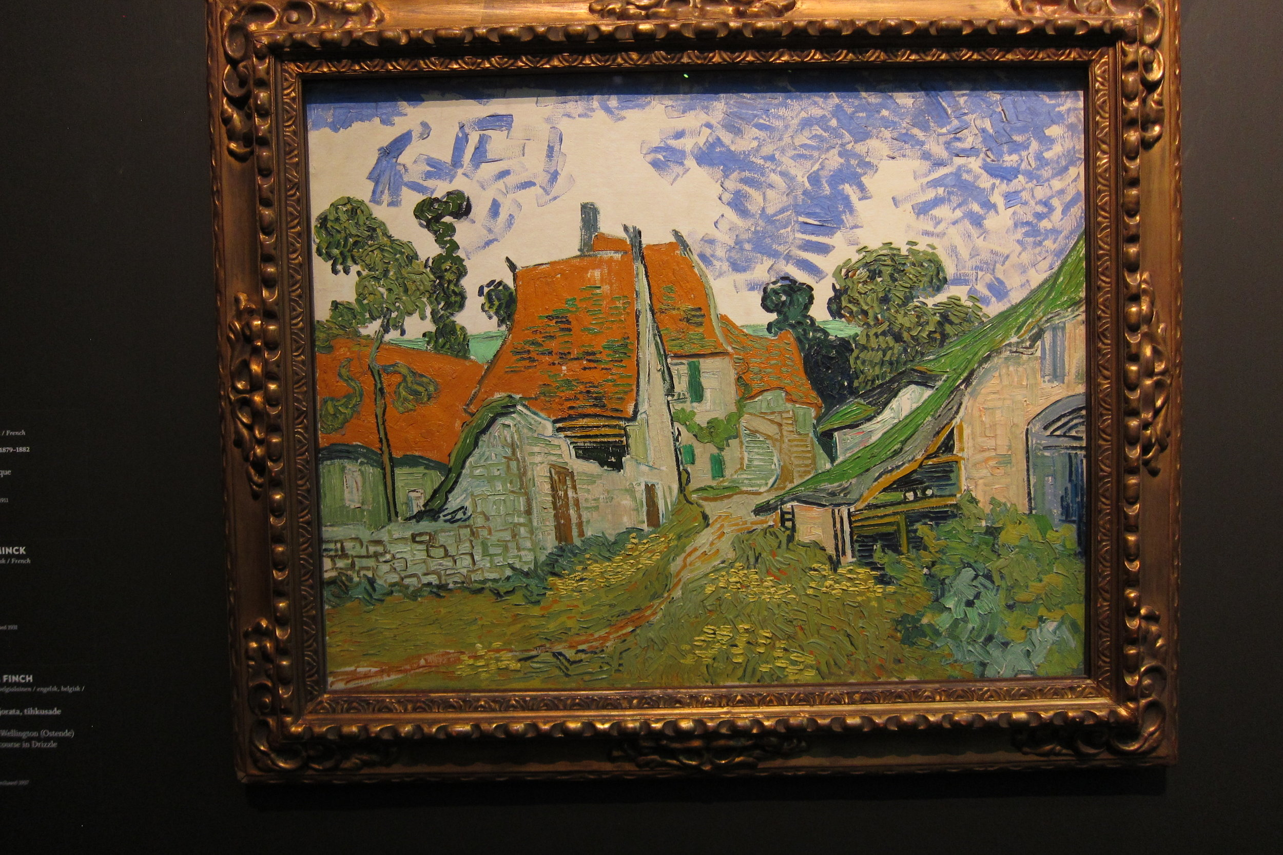 Van Gough at the Ateneum Museum, Helsinki, 5/21/19