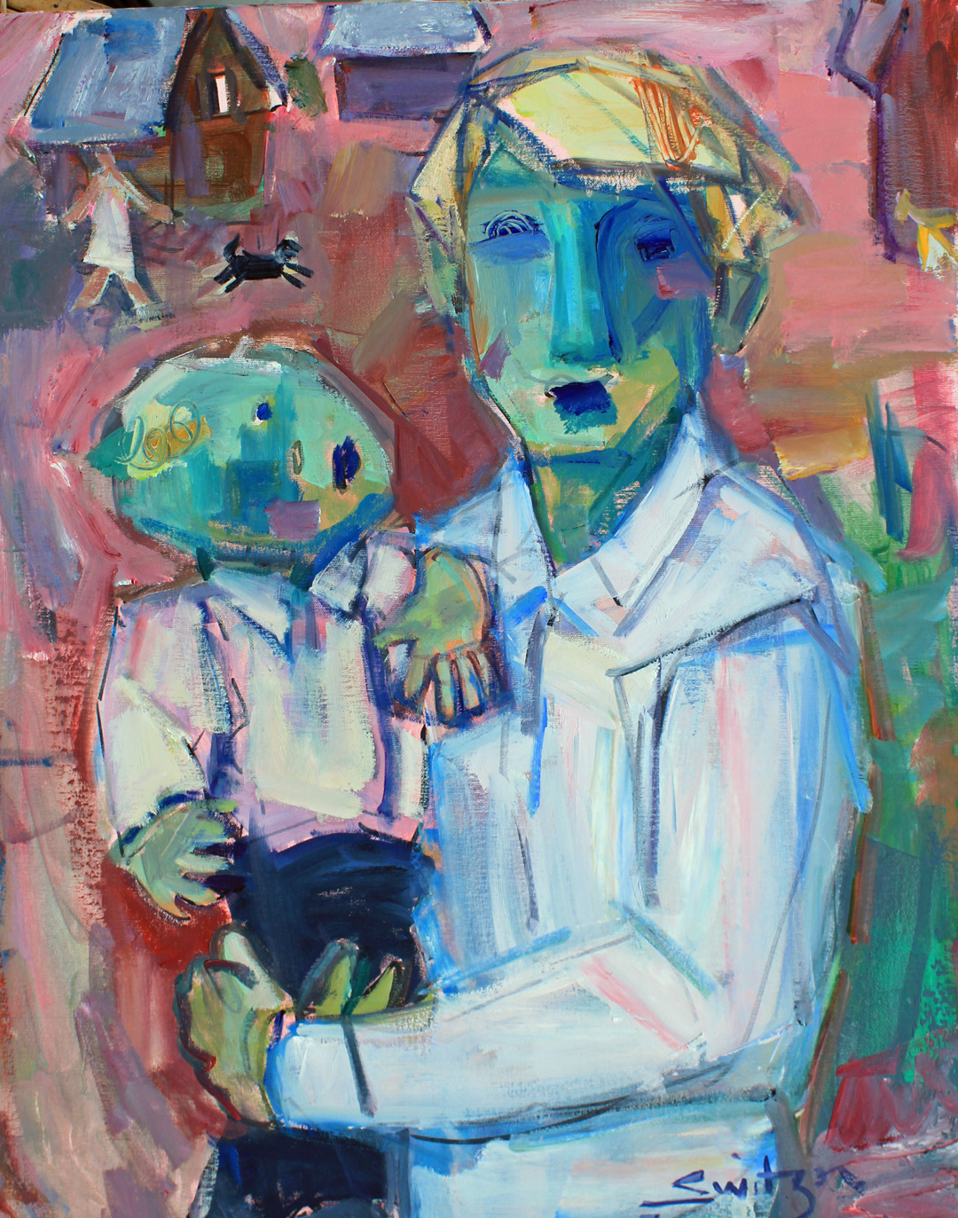 """""""Ditto"""", 30x24 inches, oil on canvas"""