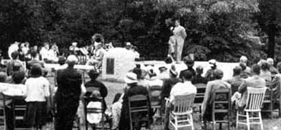 Lyman Ward Monument Dedication (1950)
