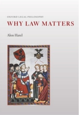 Why Law Matters - Alon Harel