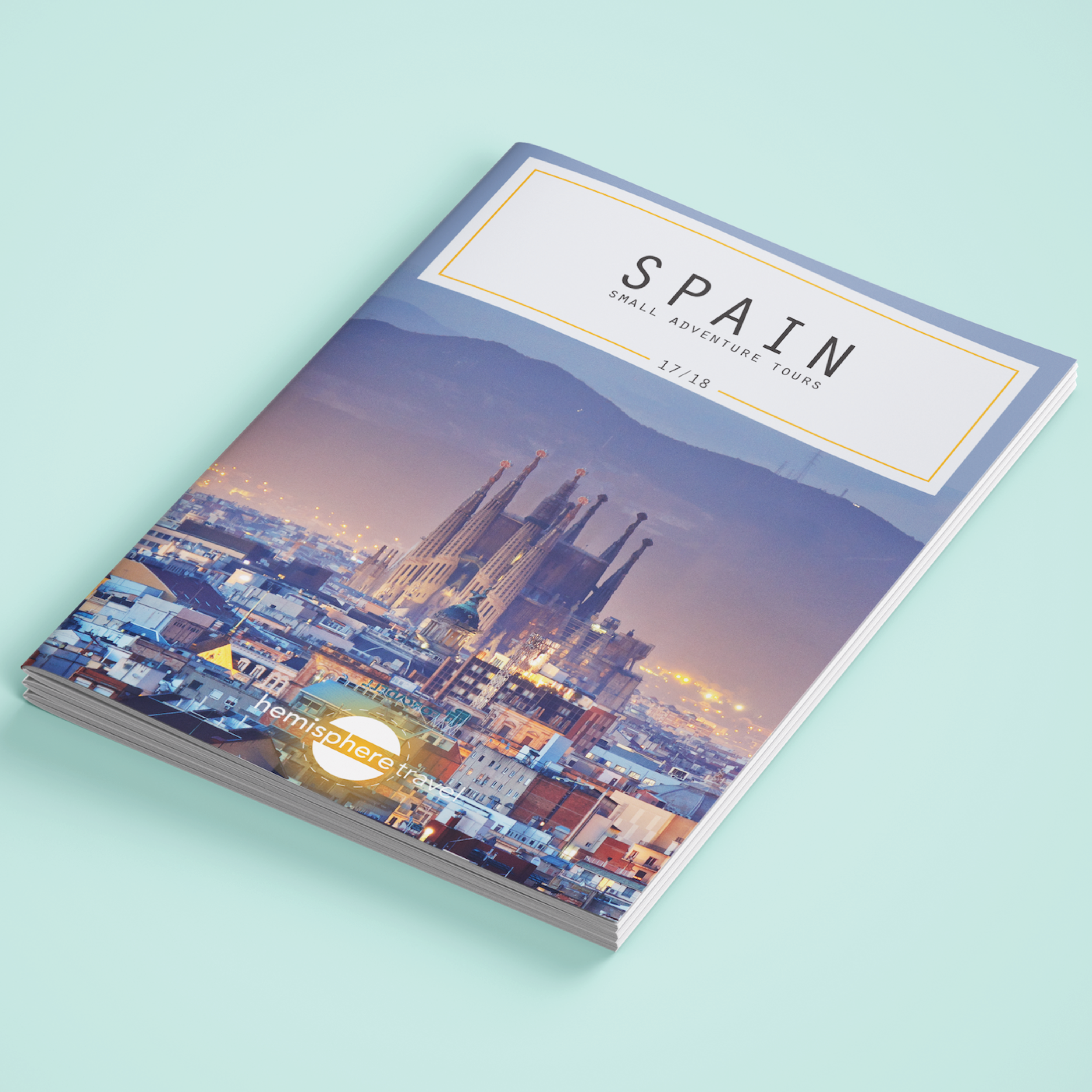 Spain Travel Brochure