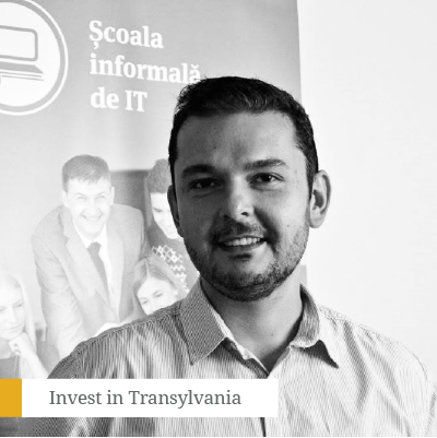 Răzvan Voica - Co-founder &CEO Școala Informală de ITAn experienced leader with a creative and expansive mindset, Razvan has over 17 years of expertise in the IT industry and of which over 10 have been spent in management and entrepreneurial positions.From his point of view, culture is the primary engine that drives teams, brings people together and creates unforeseen synergies. This conviction, his strategic approach, and the ability to juggle with opportunities have made him co-found and develop the biggest platform for alternative education in Romania: The Informal School of IT.