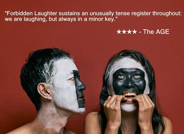 "#butohout2019 ""Forbidden Laughter"" . Must close this Sunday Book now! . #butoh #melbourne #butohout_Festival #performingarts #abbotsfordconvent #japanesearts  #tatsumihijikata #kazuoohno #festival #forbidden #laughter #dance #theatre #independentartists #creativevictoria #communityengagement #audiencedevelopment #dancebody #comedy #forbiddenlaughter #舞踏 #psychology #butohout2019 #whatsonmelbourne (Photo: #vikksyayen)"