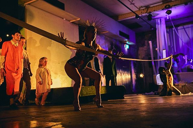 """Thanks to everyone who made it to the opening night! Book your tickets now to get a glimpse at the surreal world of Butoh! https://www.trybooking.com/book/event?eid=475710& """"Forbidden Laughter"""" From 2/May - 12/May Book Now (via butohout.com) . Is this real, or is this day dream? Are we in agony or in madness laughter? . 📸 @vikkshayen . #MaudeDavey #WillowConway #PimpisaTimpalit #yumiumiumare #impermanence_productions #vikkshayen #butoh #melbourne  #performingarts #abbotsfordconvent #japan #tatsumihijikata #kazuoohno #festival #forbidden #laughter #dance #theatre #independentartists #creativevictoria #communityengagement #audiencedevelopment #dancebody #comedy #forbiddenlaughter #forbiddendance #舞踏 #psychology #whatsonmelbourne"""