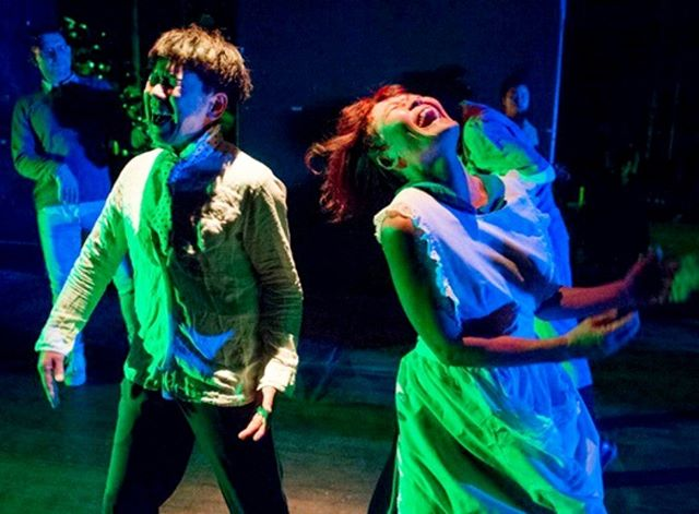 """. #butohout2019 """"Forbidden Laughter"""" . Sold Out - TODAY (5/5) BOOK NOW  for Next week (see profile) . #butoh #melbourne #butohout_Festival #performingarts #abbotsfordconvent #japanesearts  #tatsumihijikata #kazuoohno #festival #forbidden #laughter #dance #theatre #independentartists #creativevictoria #communityengagement #audiencedevelopment #dancebody #comedy #forbiddenlaughter #舞踏 #psychology #butohout2019 #whatsonmelbourne . (Photo: Paul Dunn)"""
