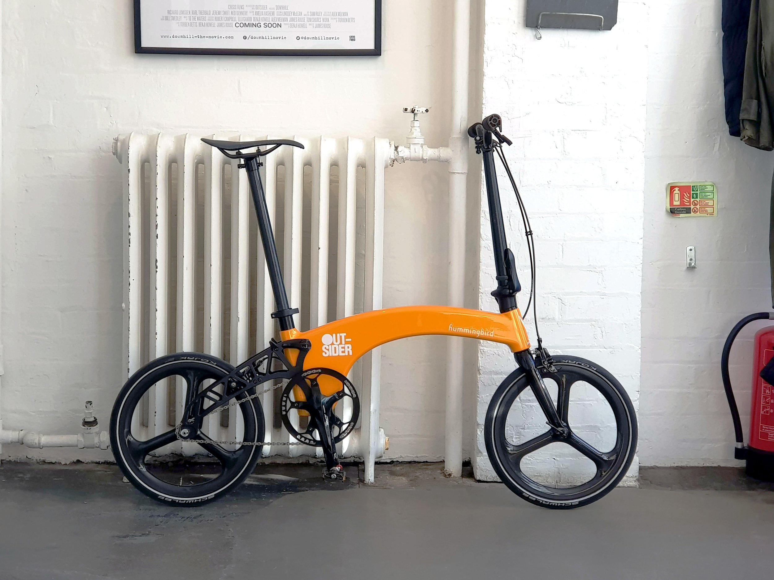 The Outsider bike gets an upgrade