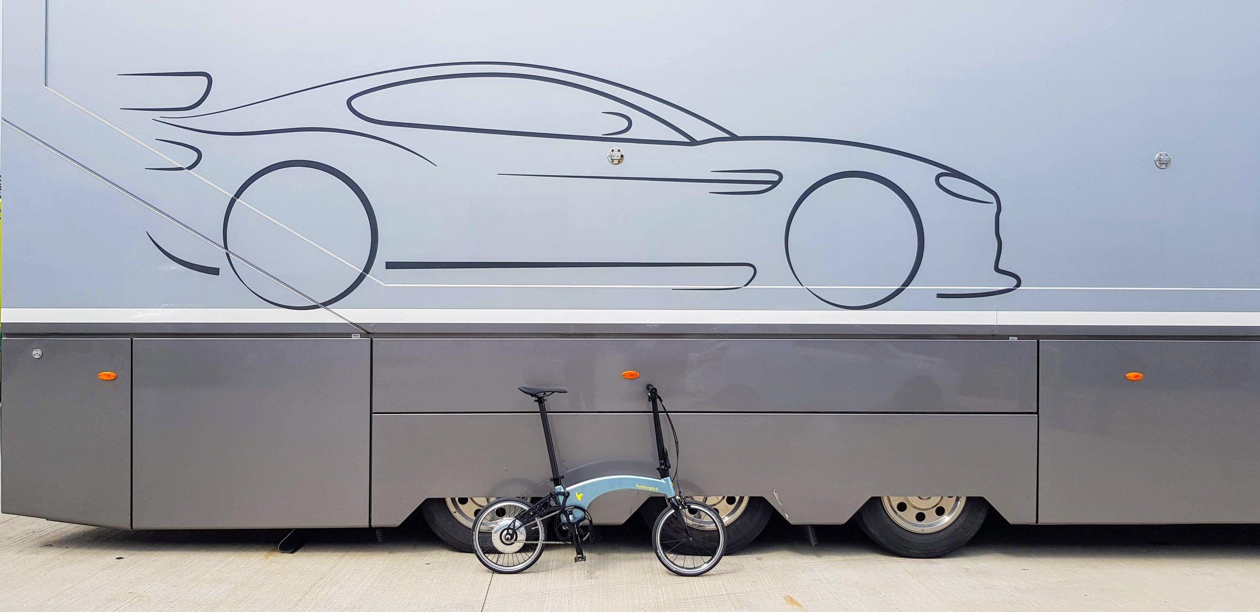 Bespoke Ferrari Celeste Blue Hummingbird for a special customer