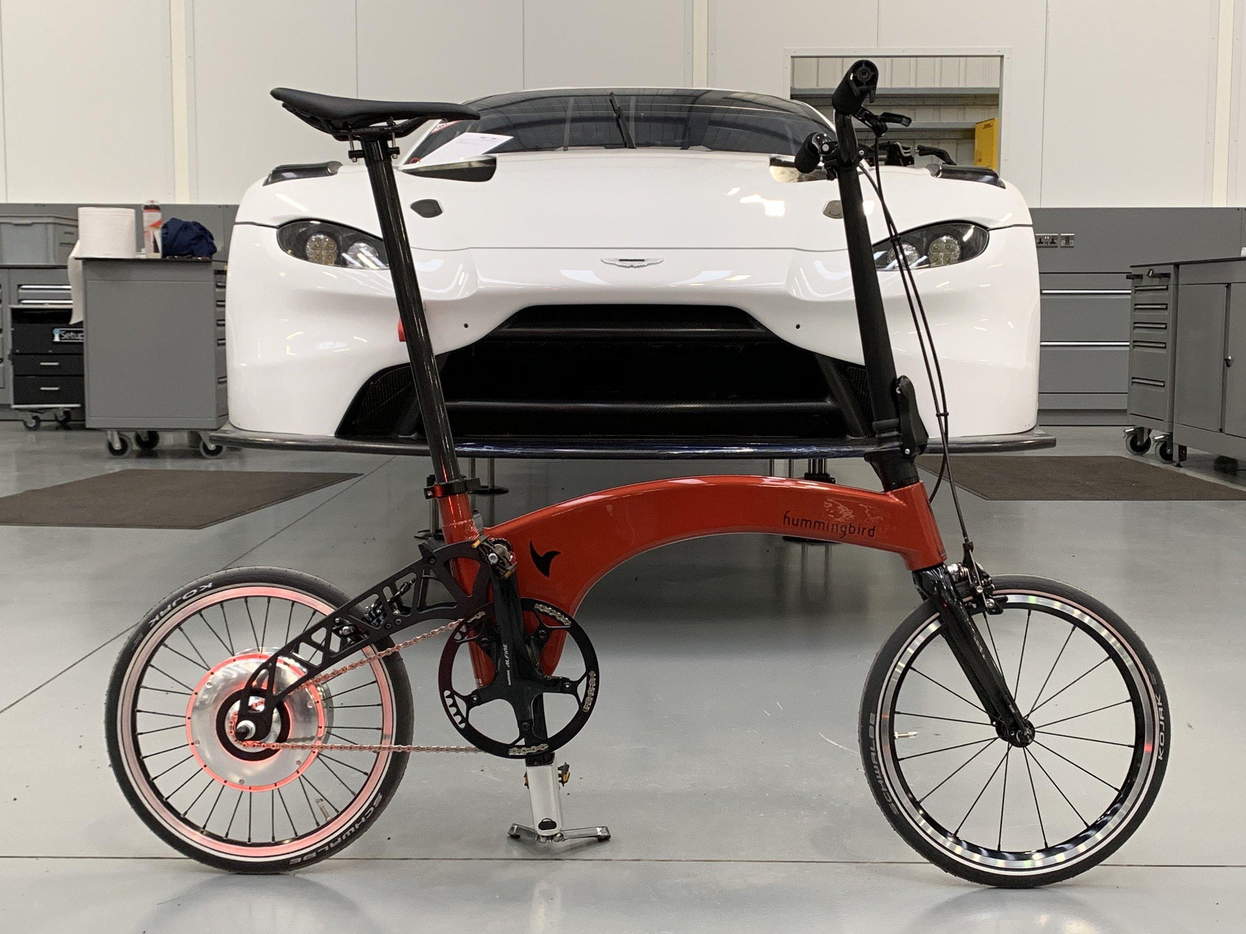 Custom  BMW Shakur Orange electric Hummingbird