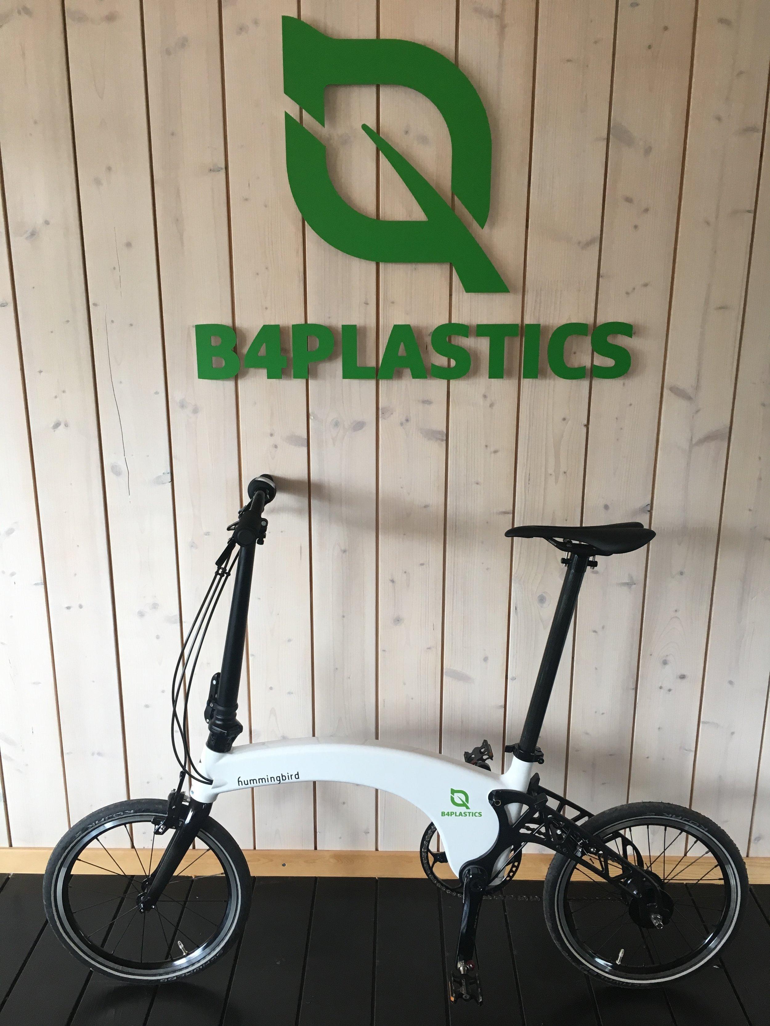 B4Plastics new Hummingbird Bike