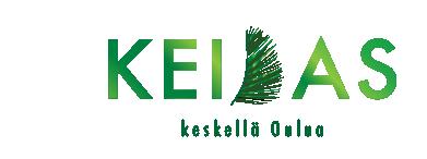 Keidas - NIMI - LOGOUusien hyvinvointitilojen logo ja nimi huokuu trooppisuutta, jota valmistuessaan huokuvat myös itse tilat.Rakentumaisillaan oleva konsepti.