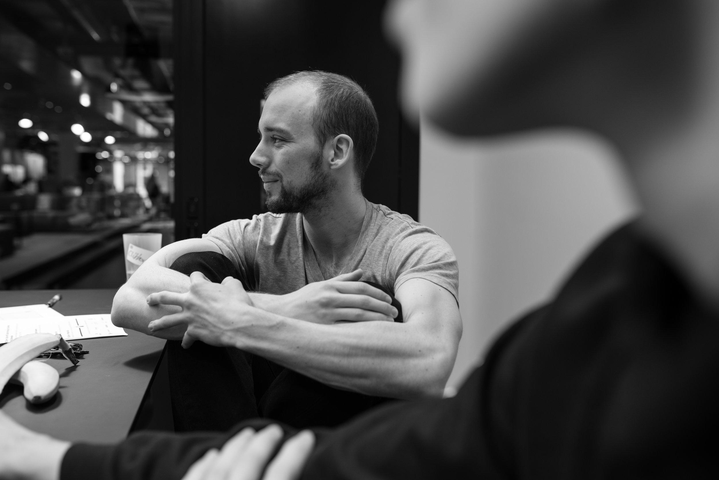 Photo of a team member taken during Startup Weekend in Prague by Tatiana Shalunova.jpg