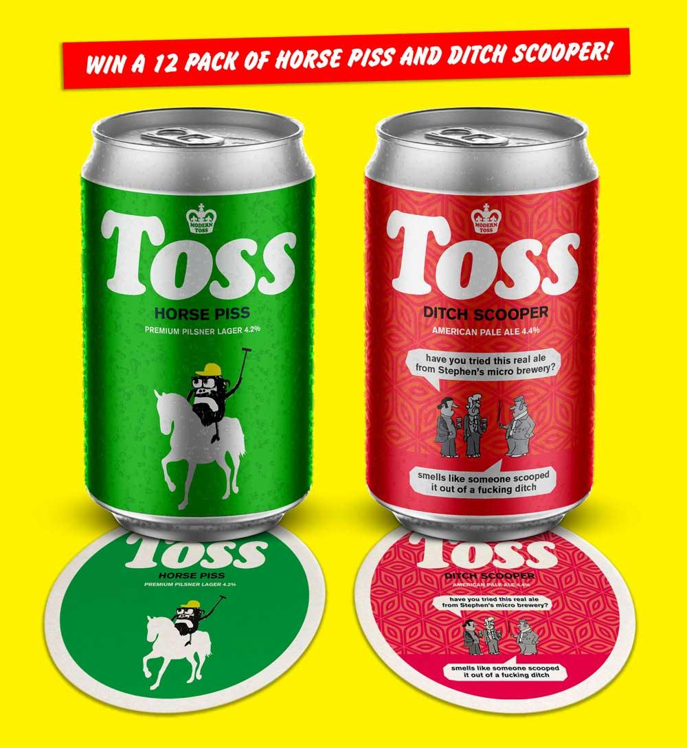 toss beer competition