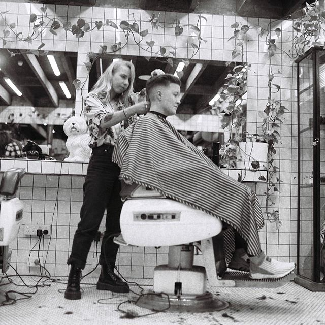 Come see our short back and sides specialists from 10am-7pm today! 🔪 #drunkenbarber #barbershop #barbershopconnect #haveanicelife #fitzroy #melbourne #shoplocal