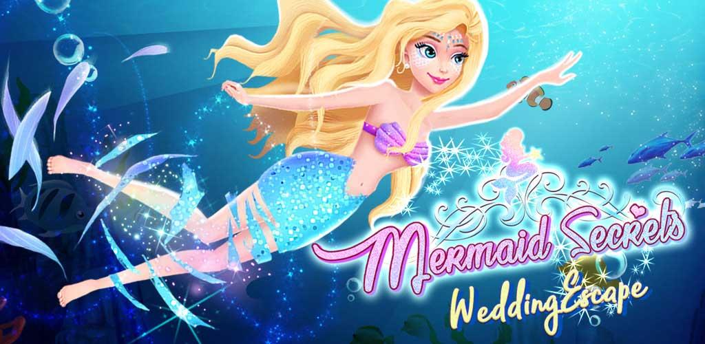 Secret Mermaid 1: First Love - Princess Story Girl Games