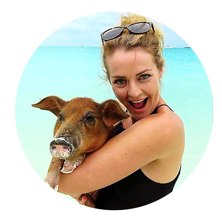 Laura Marning - 33 Degrees' Account Director, Laura is living and working overseas for two months this year to feed her love of travel. Attending famils and conferences and hosting groups around the world is quite a contrast to her former life as a lawyer, but Laura is a chameleon and is passionately living 'a life less ordinary'. Photo: Pig Beach, Exuma, Bahamas June 2018