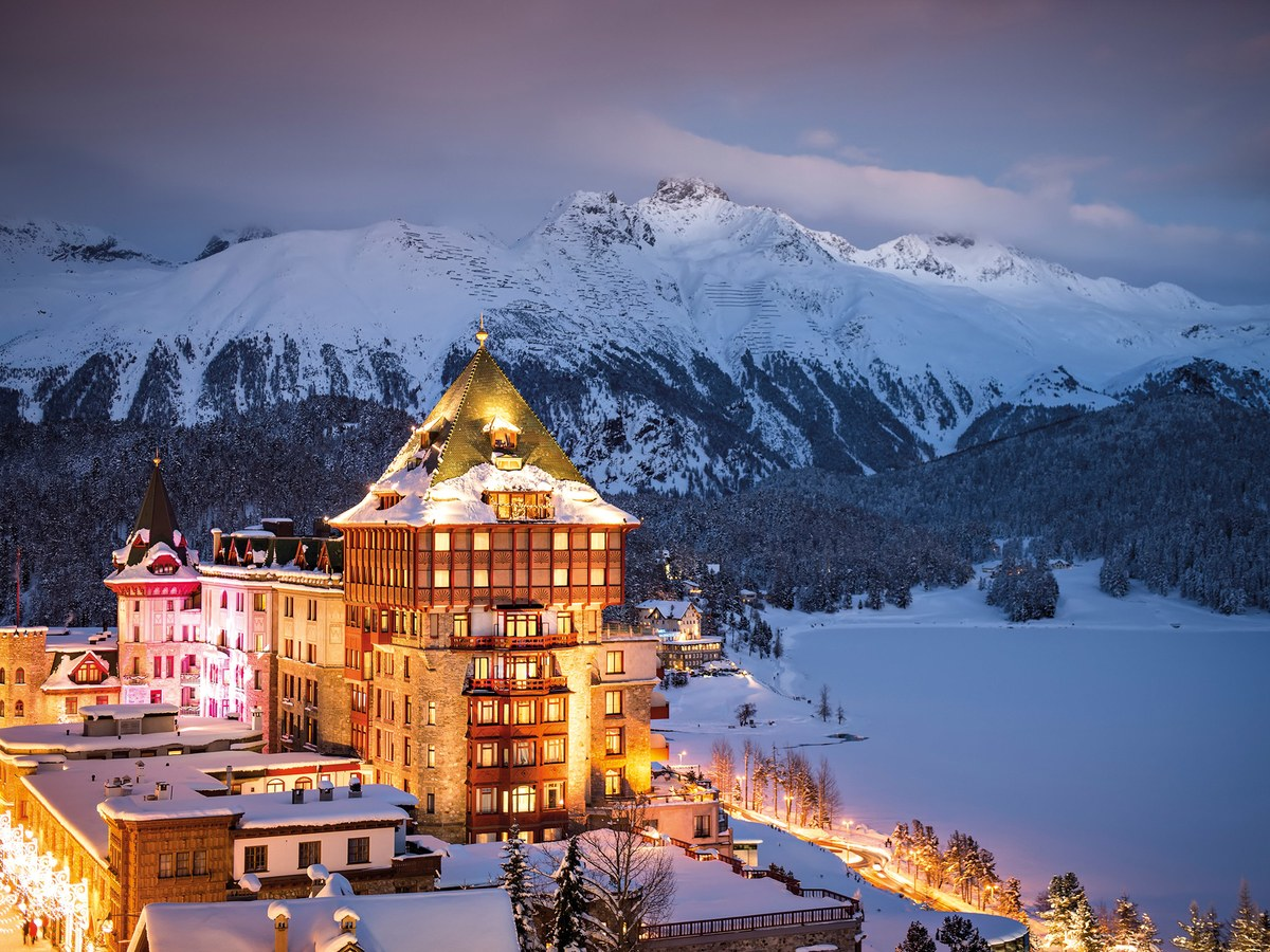 Badrutt's Palace Hotel , St. Moritz. Photo Credit: KMU Photography.