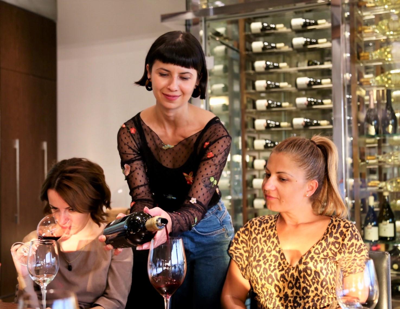 Wine tasting at Kamnik.
