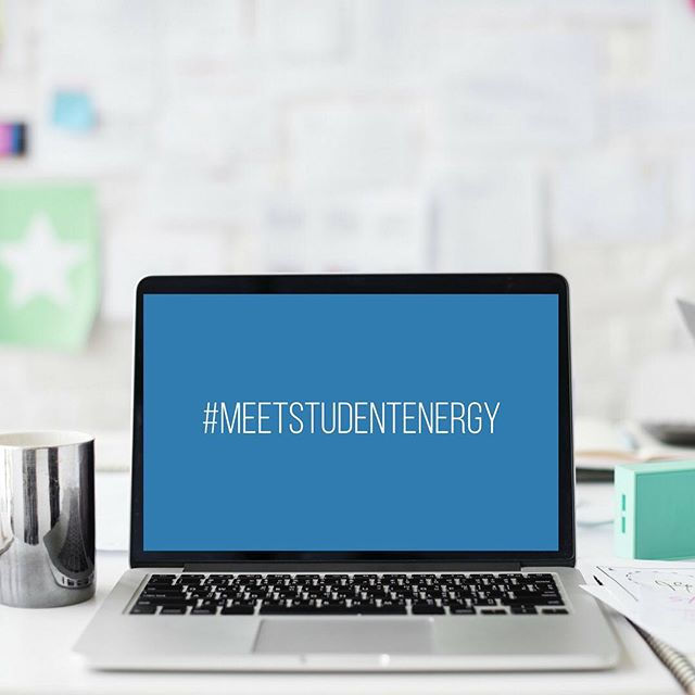 We've got something new for you! #MeetStudentEnergy introduces you to the fellow #EnergyChallengers that make up our incredible global network! Once a week hear what someone has to say about energy! From staff, to alumni and volunteers to speakers, we can't wait to connect our amazing global family.