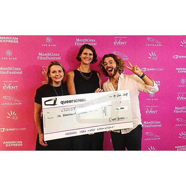 Thank you thank you thank you @queerscreen for generously awarding us completion funding to get our show across the line and onto the screen. Very chuffed 🥰  Thanks to all the amazing cast and crew for bringing this story to life.