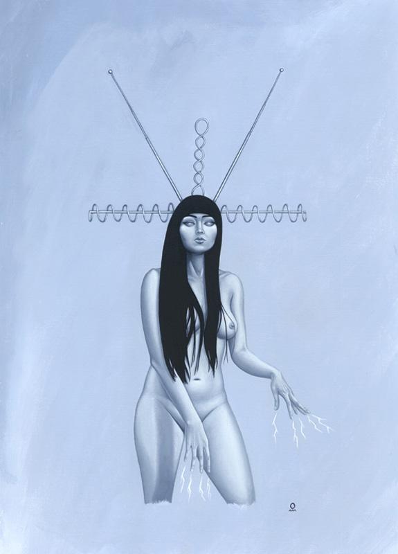 Antenna Girl #1 - Atomic Era