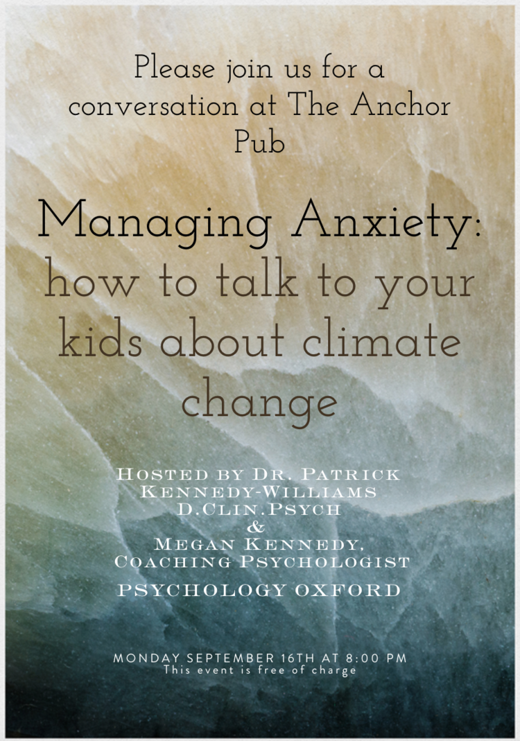 climate anxiety parent how to talk to kids