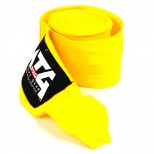 Yellow MTG Pro 5m Elasticated Hand Wraps